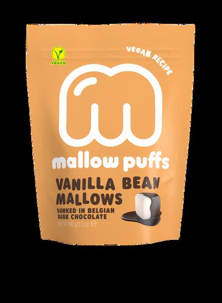 Bilde av Vegansk marshmallow, Vanilje 100g / Mallow Puffs