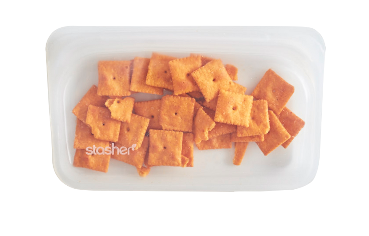 Stasher Snack, Clear / Stasher Bags