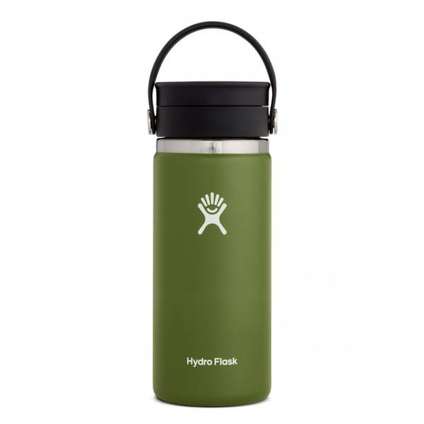 Bilde av Termokopp 473ml, OLIVE, Wide Mouth Sip Lip / Hydro Flask