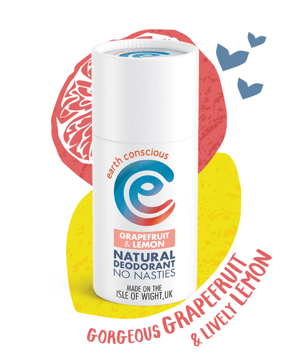 Deodorantstift 60 g / Grapefruit Lemon / Earth Conscious