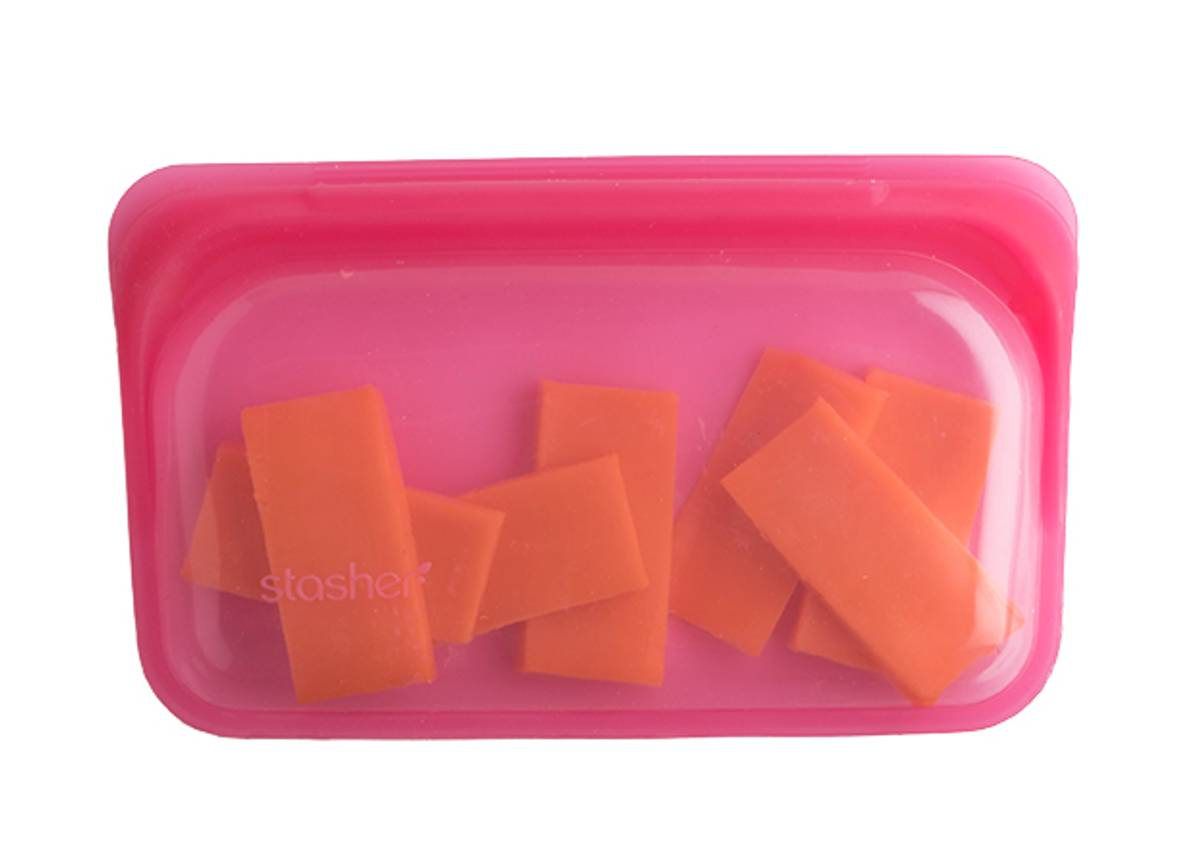 Stasher Snack, Raspberry / Stasher Bags