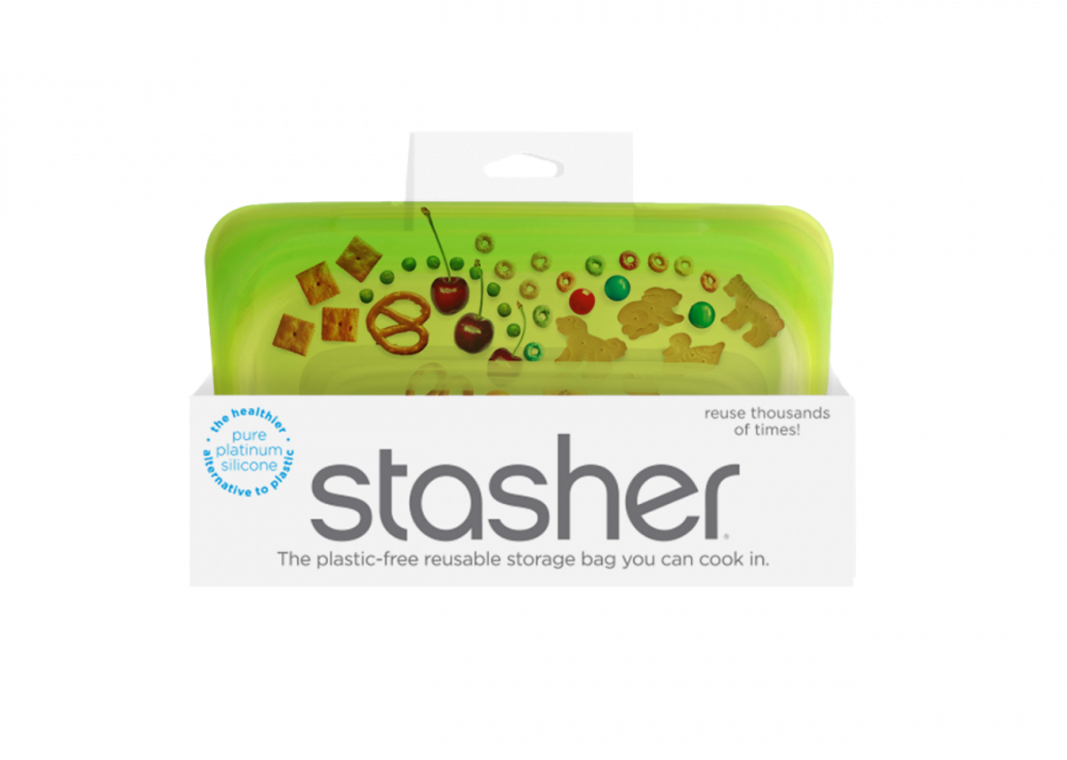 Stasher Snack, Lime / Stasher Bags