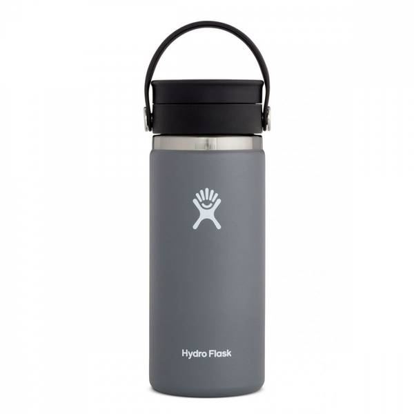 Bilde av Termokopp 473ml, STONE, Wide Mouth Flex Sip Lid / Hydro Flask