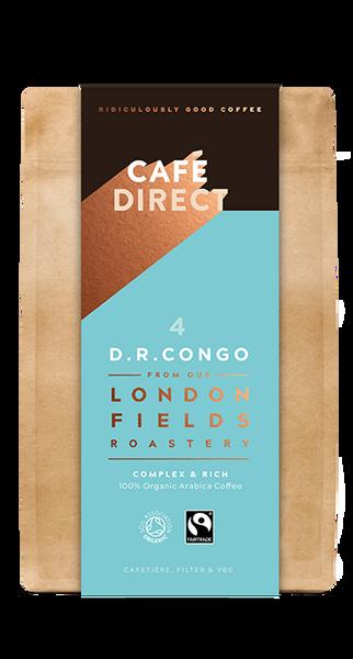Bilde av D.R.CONGO malt kaffe, økologisk & Fair Trade / Café Direct