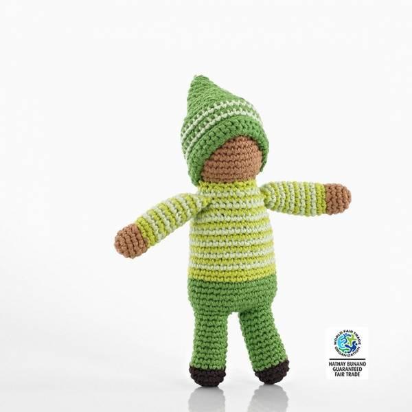 Bilde av Heklet dukke Pixie Fern / Fairtrade