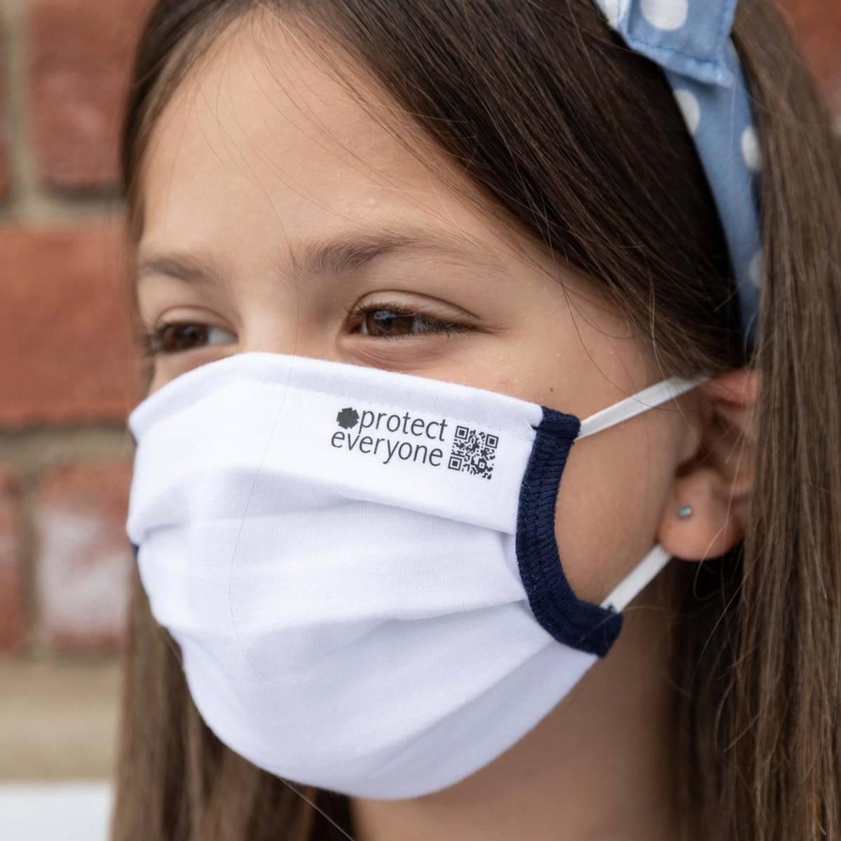 Barn: munnbind i økologisk bomull / ceae