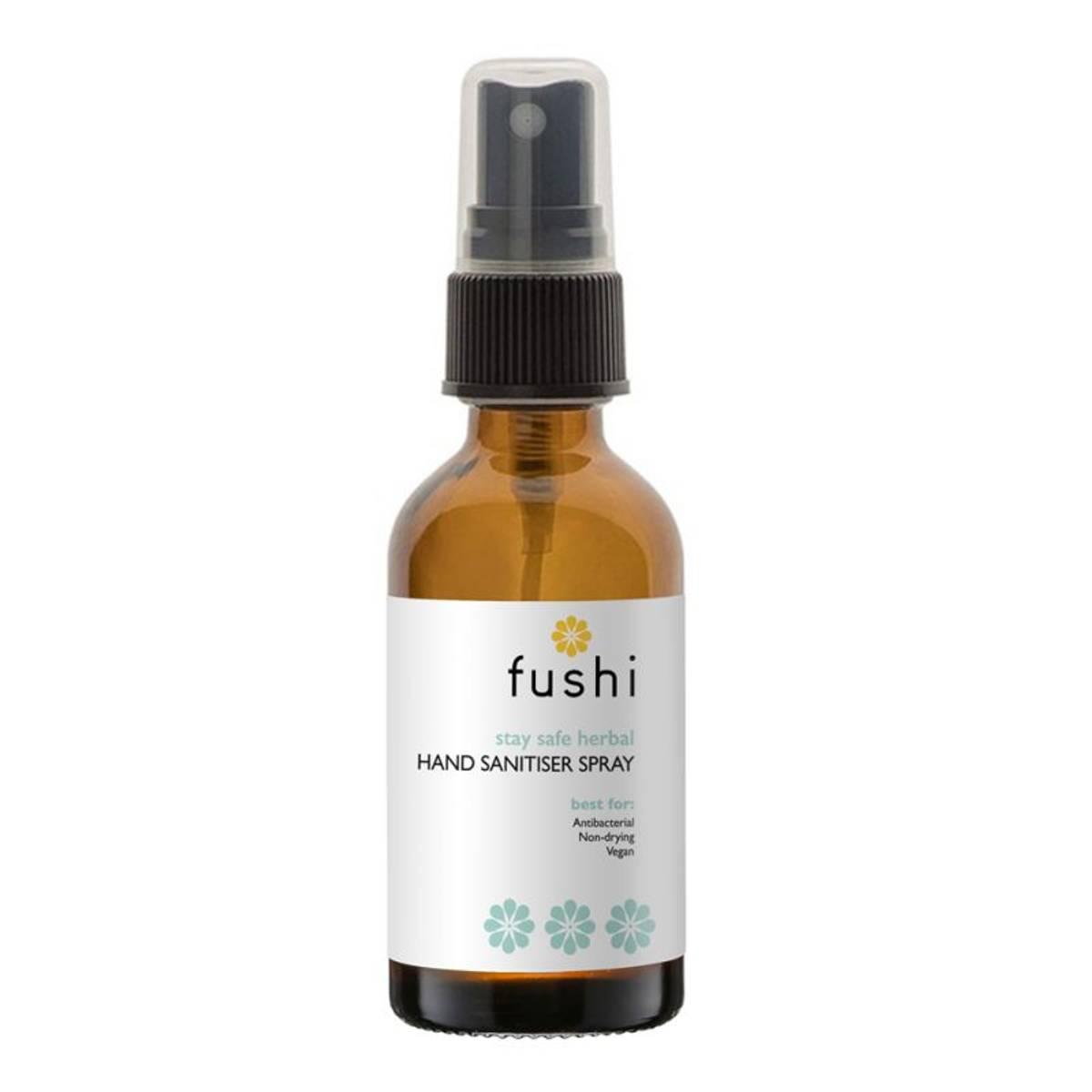 Antibakteriell spray til hender m/ urter, 60% alkohol / Fushi