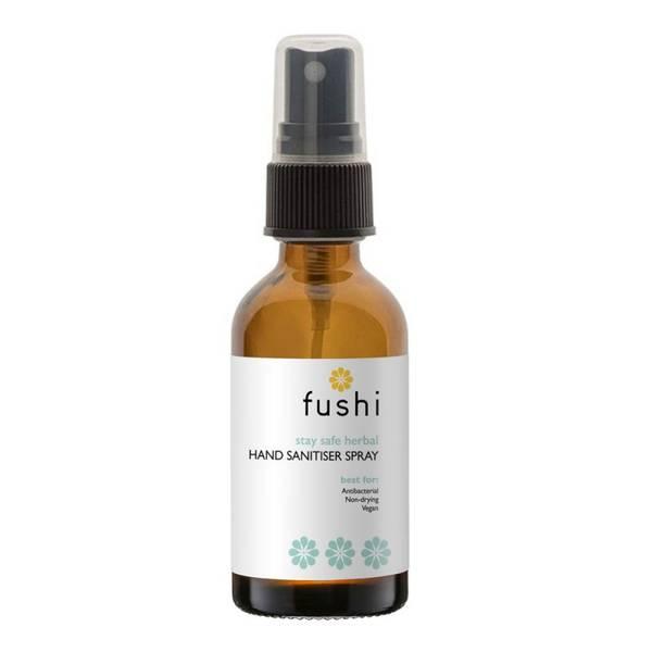 Bilde av Antibakteriell spray til hender m/ urter, 60% alkohol / Fushi