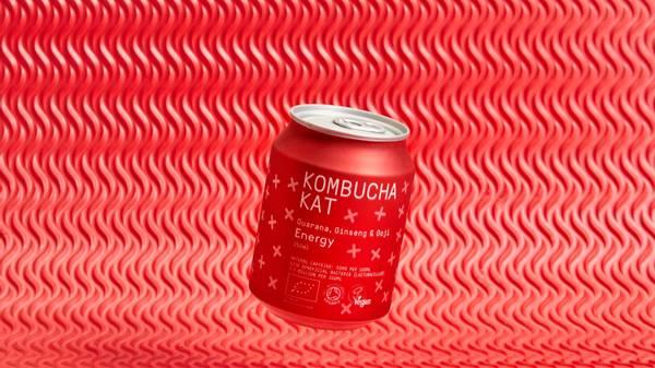 Bilde av Kombucha Organic Energy 250 ml / Kombucha Kat