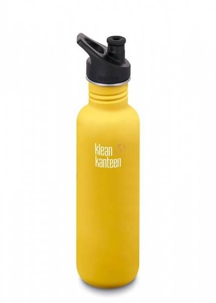 Bilde av Drikkeflaske Sport 800 ml, Lemon Curry / Klean Kanteen
