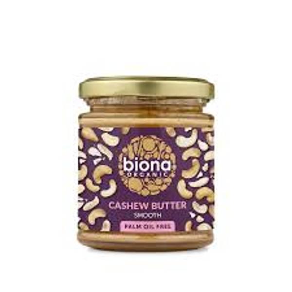 Bilde av Økologisk cashewnøttsmør 170g / Biona