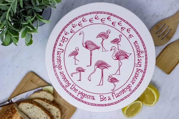 Bilde av Str. L Vokset bolletrekk, Flamingo / Your Green Kitchen
