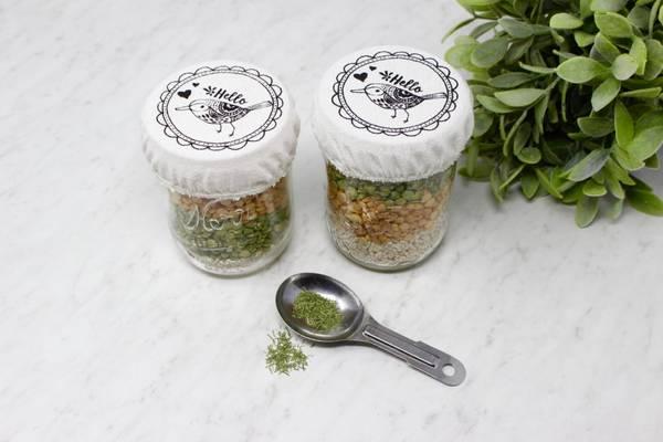 Bilde av 2-pk bolletrekk til Norgesglass, Hello Bird / Your Green Kitchen