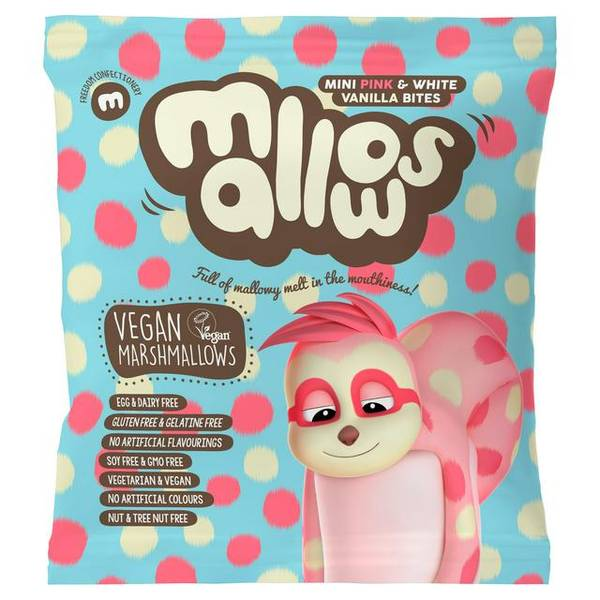 Bilde av Pink & White minimarshmallows 75 g / Freedom Mallows