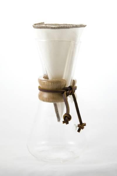 Bilde av CoffeeSock® 2-pk kaffefilter Chemex  3-  kp, økologisk bomull
