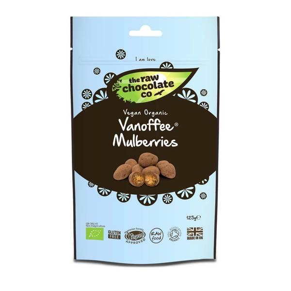 Bilde av Vanoffee Mulberries, morbær med sjokolade 125g / The R