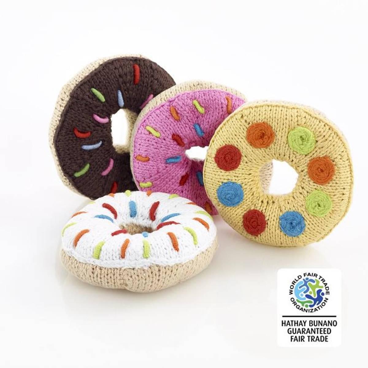 Heklet smultringrangle / Fairtrade og håndlaget