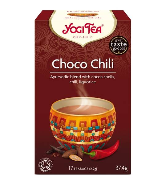 Bilde av Yogi Tea Choco Chili, 17 teposer