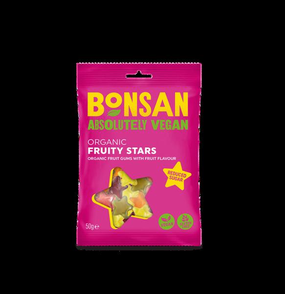 Bilde av Fruity Stars økologisk vingummi 50g / Bonsan