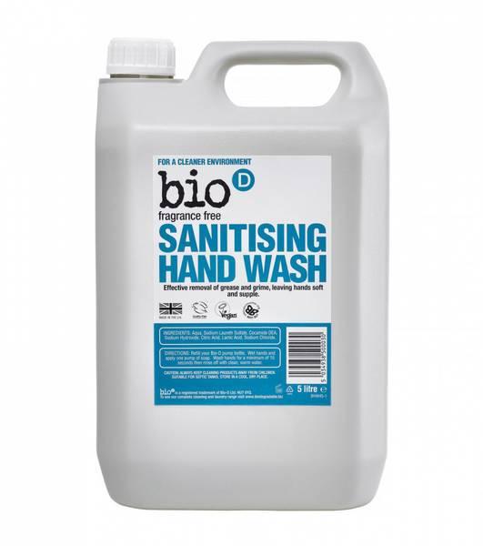 Bilde av 5L duftfri anti-bakteriell håndsåpe /Bio-D