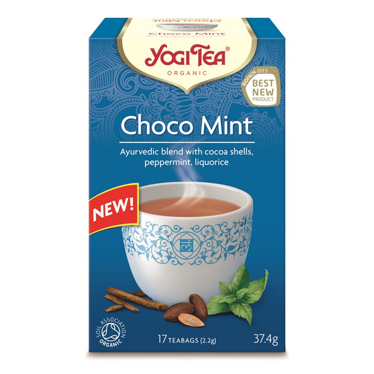 Yogi Tea Choco Mint, 17 teposer