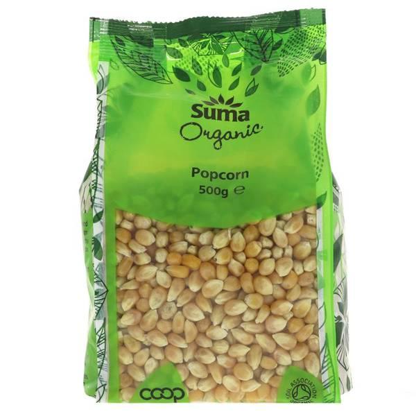 Bilde av Økologisk popcorn, 500g / Suma