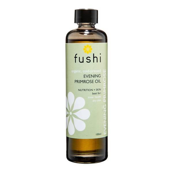 Bilde av Fushi kaldpresset nattlysolje 100 ml, økologisk