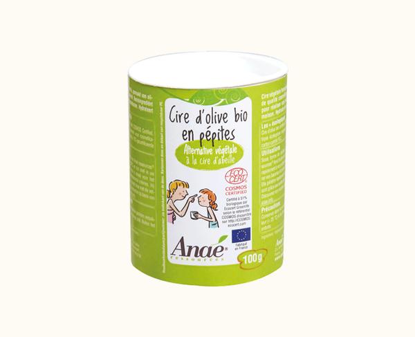 Bilde av Vegetabilsk voks av olivenolje 100g / Anaé