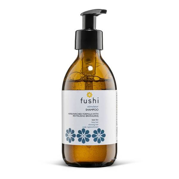 Bilde av Fushi Stimulator Herbal Shampoo 230 ml, glassflaske