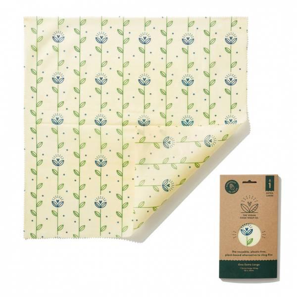 Bilde av 1 stk XL vegansk voksark, Seedling / The Beeswax Wrap Company