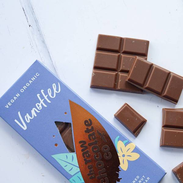 Bilde av Vegansk sjokolade Vanoffee 38g / The Raw Chocolate