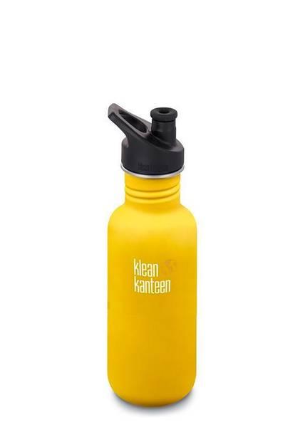 Bilde av Klean Kanteen Classic Sport 532 ml, Lemon Curry
