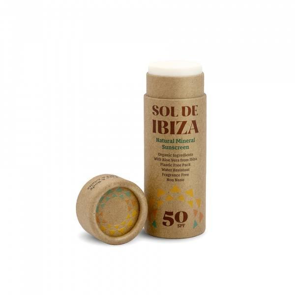 Bilde av SPF50 solkremstift til ansikt og kropp, 40g  / Sol de Ibiza