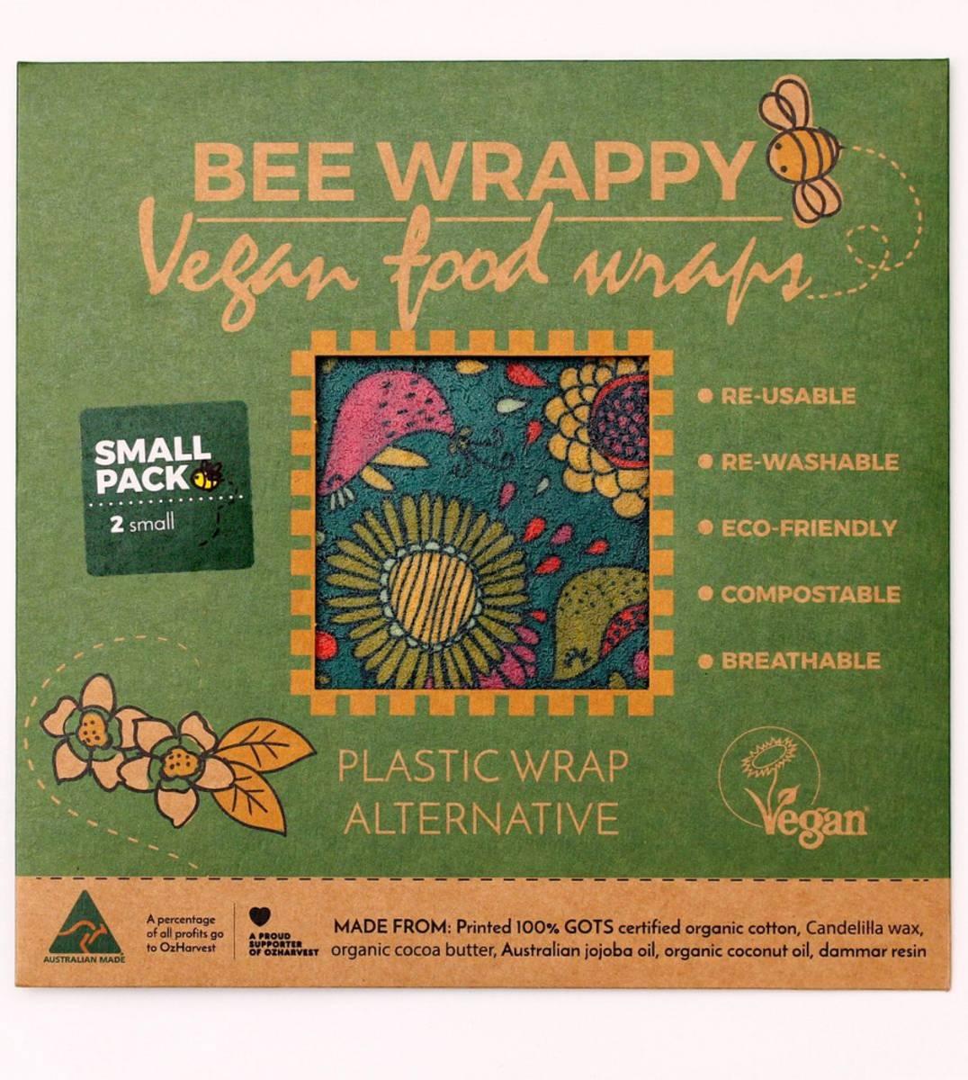 2-pk S veganske voksark Bee Wrappy