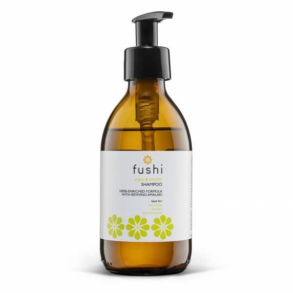 Bilde av Fushi Argan & Amalki Shampoo 230 ml i glassflaske / Fushi