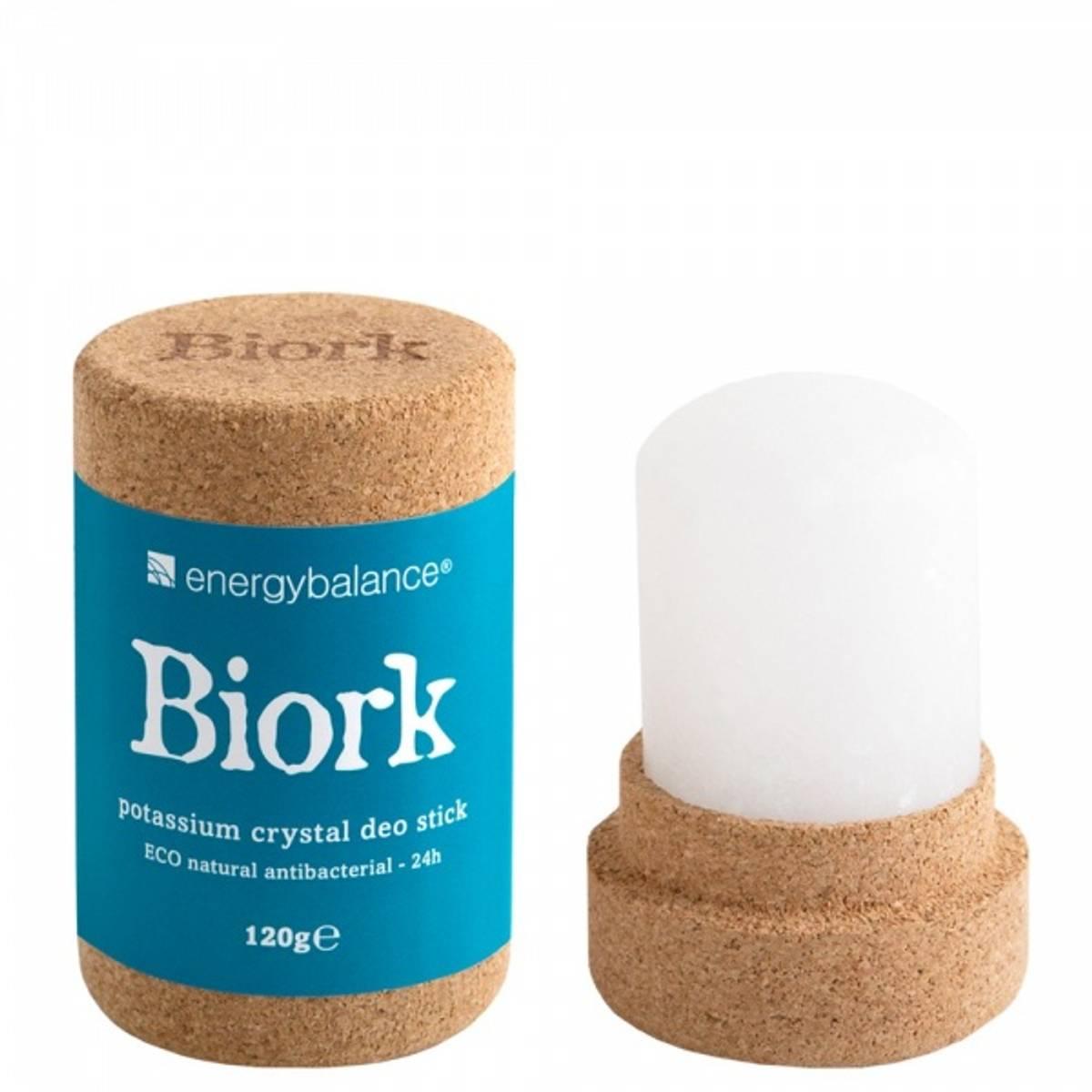 Biork™ krystalldeodorant, plastfri og økologisk