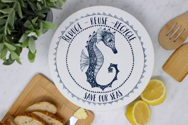 Bilde av Str.M Vokset bolletrekk, Seahorse / Your Green Kitchen