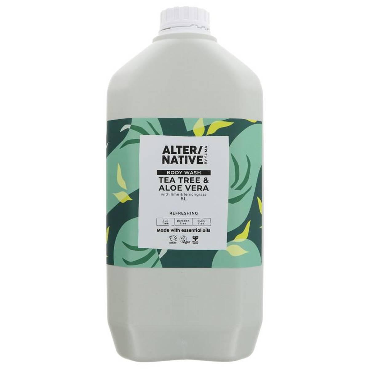 5L flytende dusjsåpe Tea Tree Aloe & Lime / Alter/native