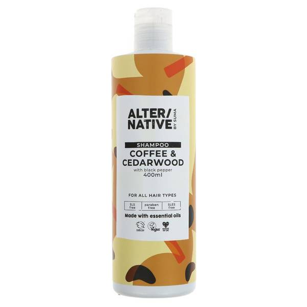 Bilde av Sjampo Coffee & Cederwood 400ml / Alter/native