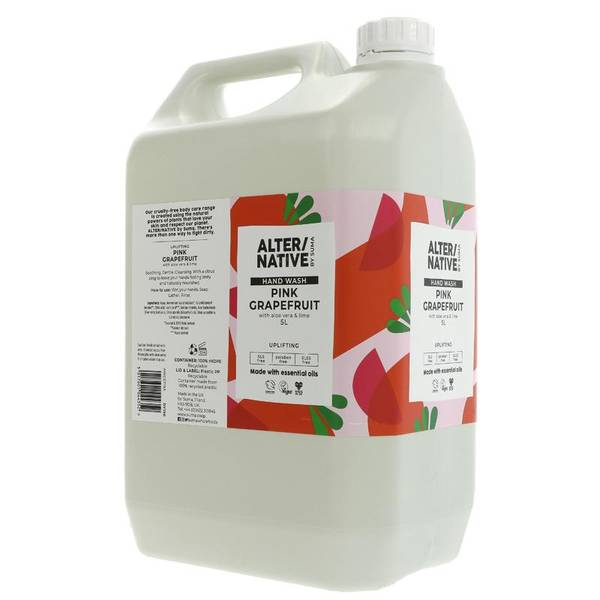 Bilde av 5L flytende sjampo Pink Grapefruit & Aloe / Alter/native