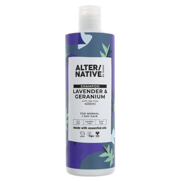 Bilde av Sjampo Lavender & Geranium 400ml / Alter/native