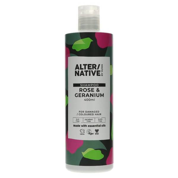 Bilde av Sjampo Rose & Geranium 400ml / Alter/native