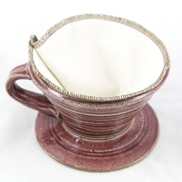 Bilde av CoffeeSock® 2-pk kaffefilter Hario V60-01  økologisk bomull