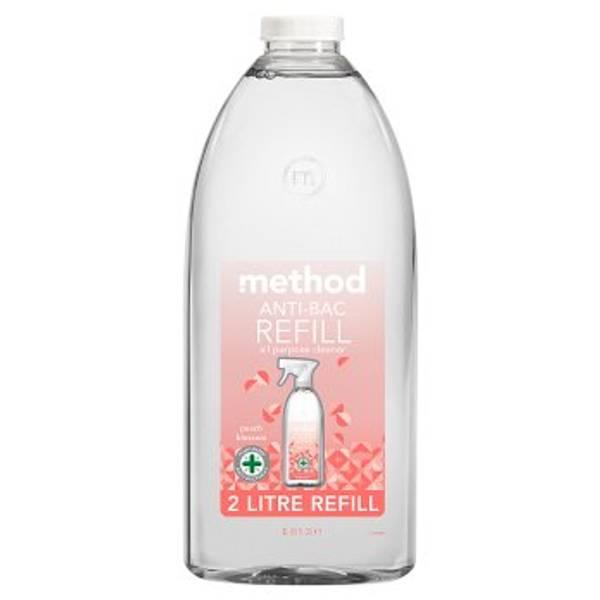 Bilde av REFILL 2L anti-bac universalspray, Peach Blossom / Method