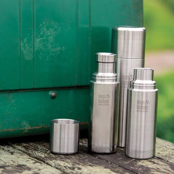 Bilde av Klean Kanteen TKPro plastfri termos i rustfritt stål, Brushed St