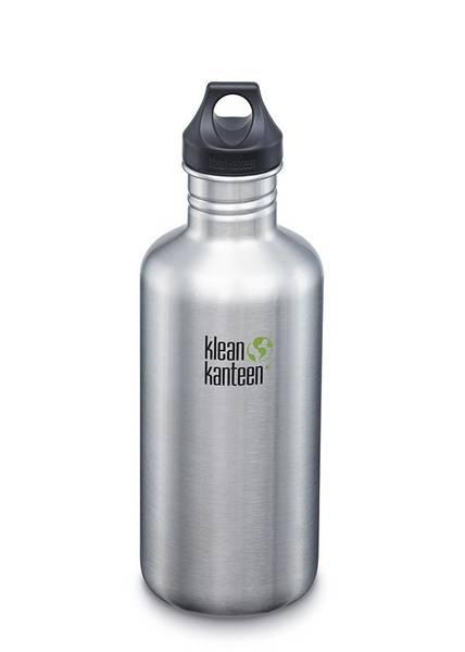 Bilde av Klean Kanteen 1182 ml Classic Loop Cap , Brushed Steel