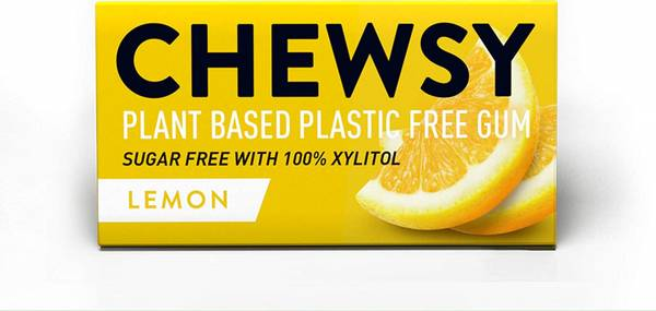 Bilde av 10 stk naturlig tyggis, Lemon  / Chewsy