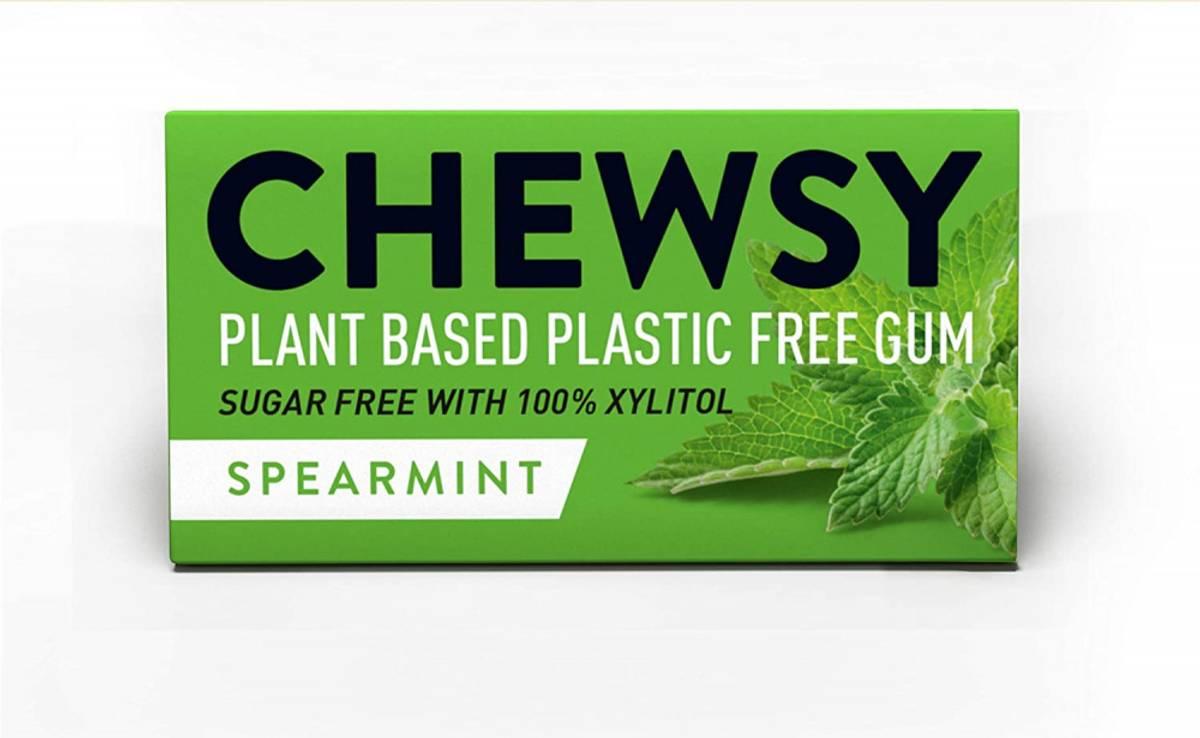 10 stk naturlig tyggis, Spearmint  / Chewsy