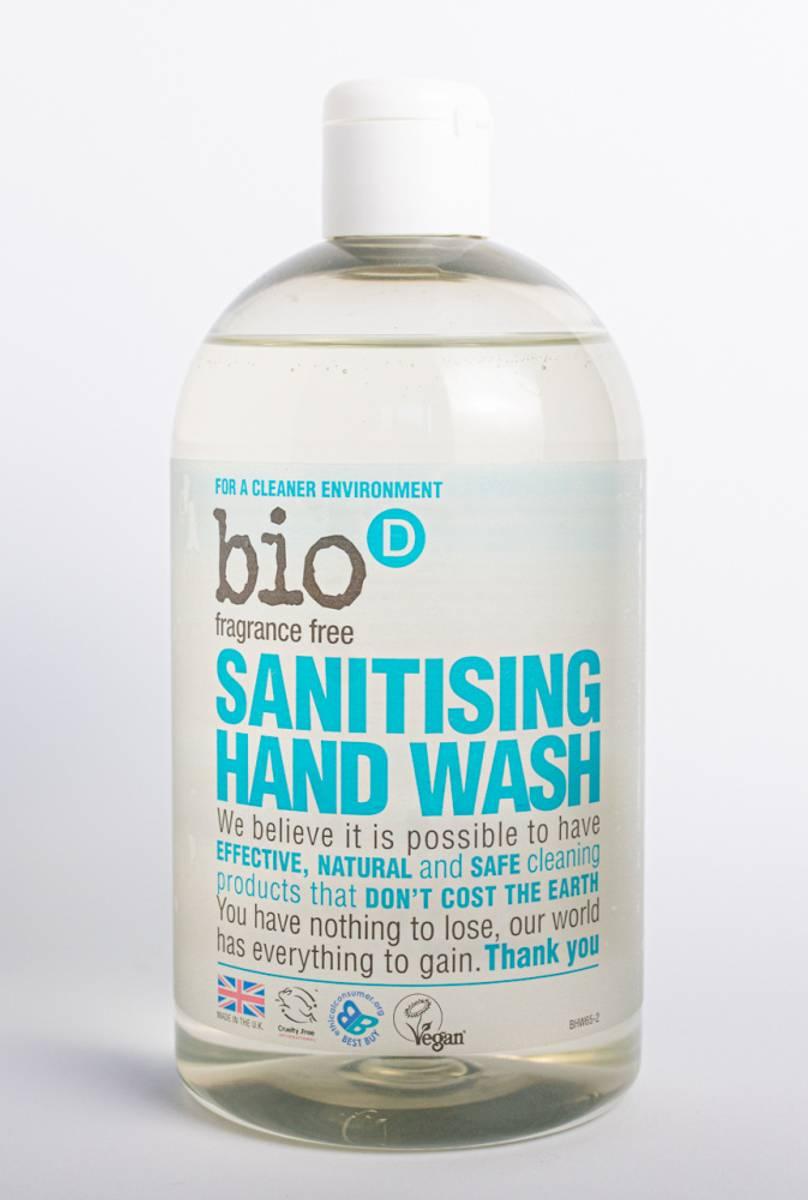 500 ml Håndsåpe DUFTFRI / Bio-D