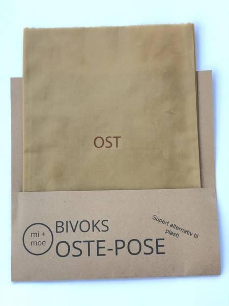 Bilde av Ostepose, Lys brun / Mi + Moe